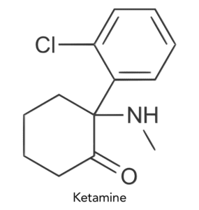 Chemical Structure of Ketamine